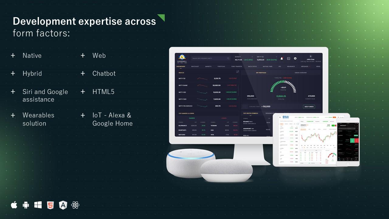 Frontend Interface Development
